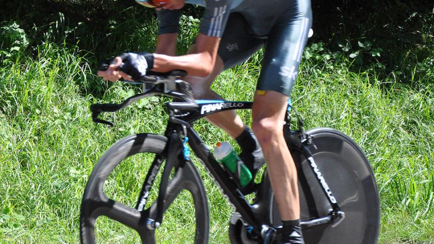 Radrennfahrer Chris Froome