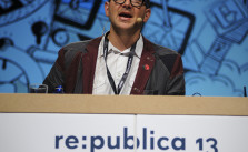 Cory Doctorow auf der re:publica 13 - CC BY-SA 2.0 via flickr/re-publica