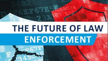 """Europol-Broschüre zur """"Zukunft der Strafverfolgung""""."""