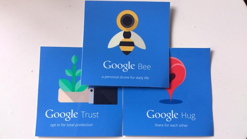 Aufkleber zu Google Nest