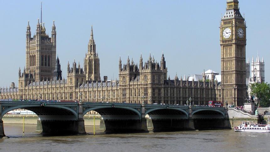 Das britische Parlament