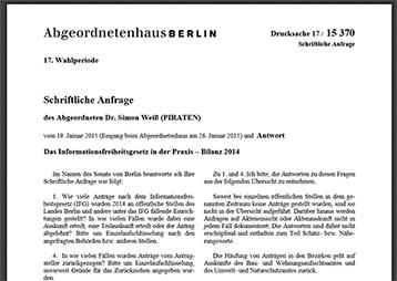 IFG-Statistik Berlin