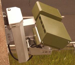 Kfz-Kennzeichen-Scanner auf der A11, Höhe Prenden