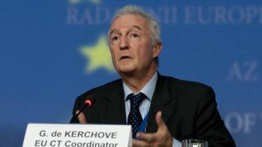 """Gilles de Kerchove, der """"Anti-Terror-Koordinator"""" der EU. Sein Daseinszweck besteht darin, möglichst weitgehende Gesetzesänderungen für mehr Überwachung auf den Weg zu bringen."""