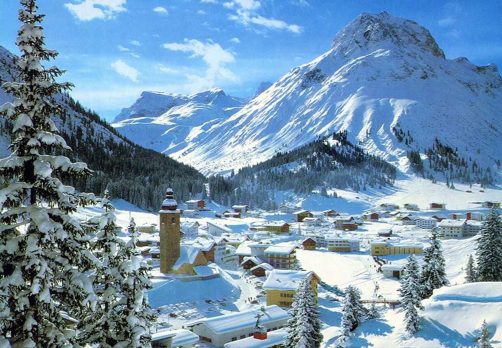 Historische Postkarte, Lech am Arlberg. Foto: CC-BY 2.0 marmeloni