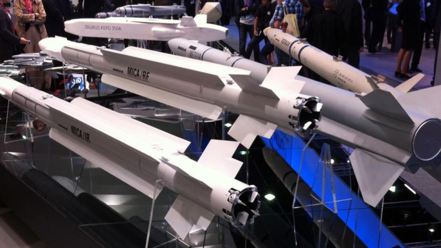 Die neue Drohne könnte mit Lenkwaffen des ebenfalls europäischen Rüstungskonzerns MBDA eingerüstet werden. (Bild: MBDA)