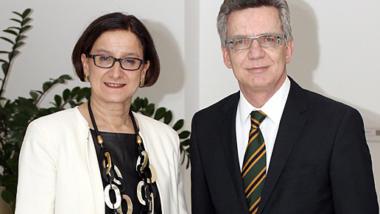 """Jetzt auch """"impulsgebend"""" mit dabei: Österreichs Innenministerin Johanna Mikl-Leitner. (Bild: BMI)"""
