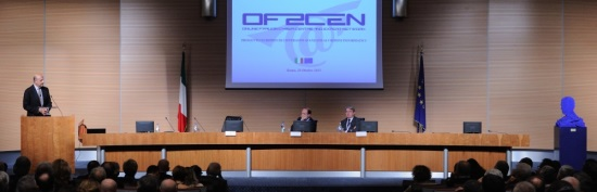 "Die Präsentation des Projekts ""Of2Cen"". (Bild: Polizia di Stato)"