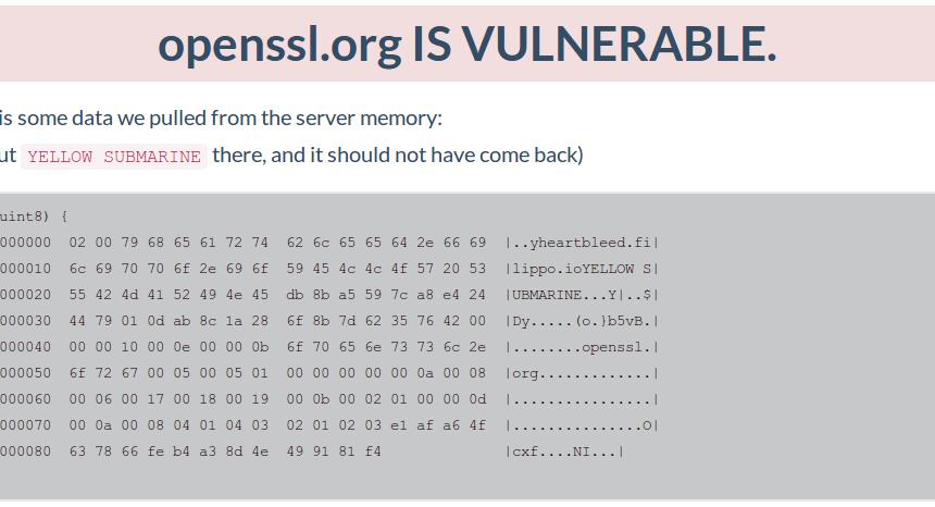 HeartBleed: Ein OpenSSL-Bug, der weitreichende Folgen haben könnte ...