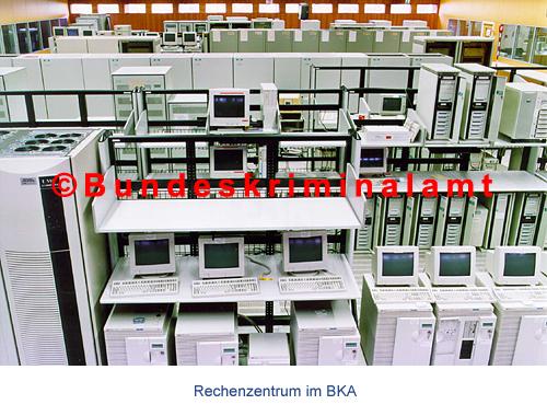 """""""Rechenzentrum beim BKA"""" (Bild: BKA)."""