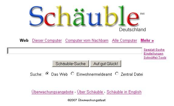 Schäuble-Suche