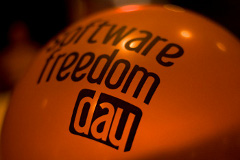 Software Freedom Day Ballon