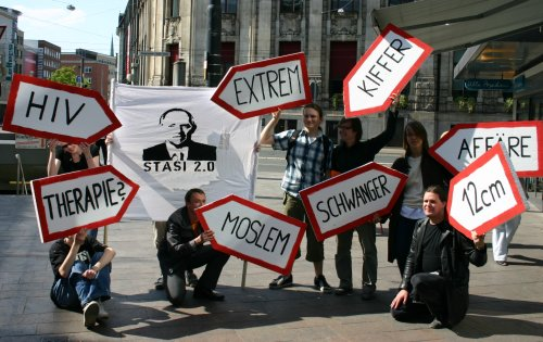 Stasi 2.0 Bremen Demo