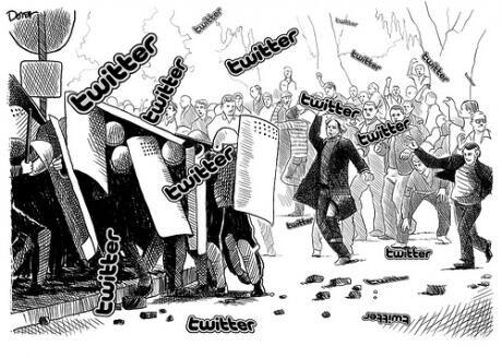Mit Twitter gegen die polizeiliche Informationshoheit - Die Polizei schlägt nun zurück.