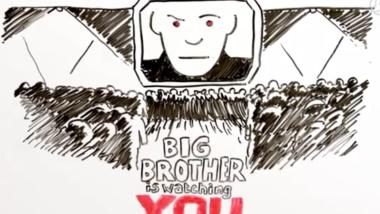 """Screenshot des populären Videos """" Überwachungsstaat - Was ist das?"""""""