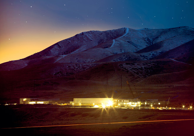 Das Utah Data Center. Quelle: Wired.