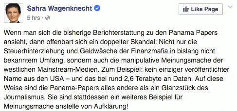 FB wagenknecht