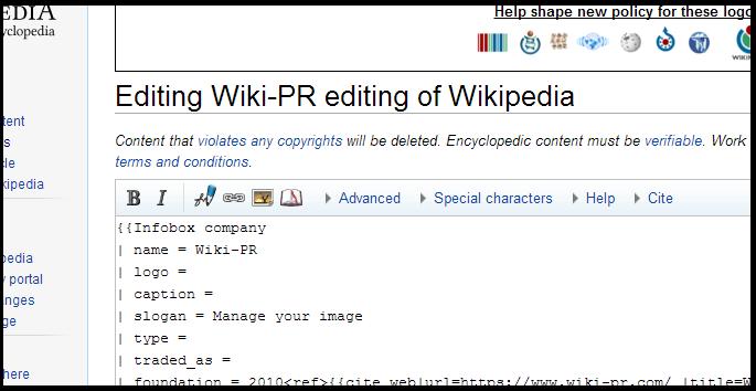 wiki-pr