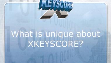 Screenshot einer bei netzpolitik gespiegelten Präsentation zu XKeyscore
